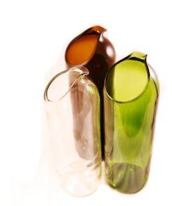 Karaffe Weinflasche Upcycling